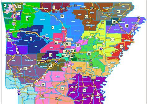 us representatives arkansas map arkansas state redistricting nwaonline