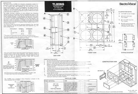 wooden plans 4 215 12 speaker cabinet plans pdf 5