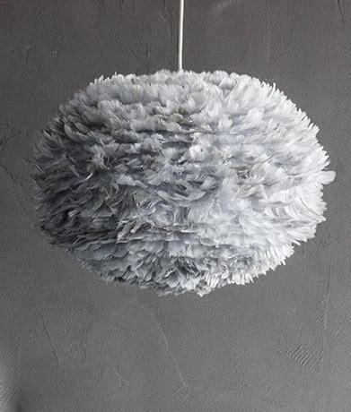 feather lights vita eos feather light shade in grey white brown