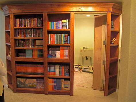 Hutch Bookcase Custom Woodworking Denver Colorado Custom Doors Hidden