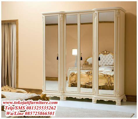 Bikin Lemari Kaca lemari pakaian 4 pintu kaca cermin www tokojatifurniture