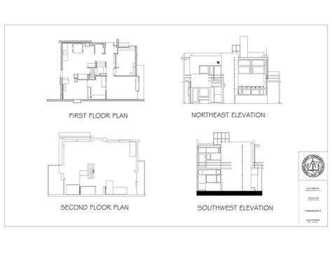 schroder house floor plan schroder house plan escortsea