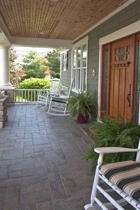 veranda flooring ideas craftsman porch exterior tiles and porches on