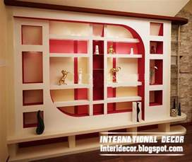 Interior Wall Designs by Modern Gypsum Board Wall Interior Designs And Decorative