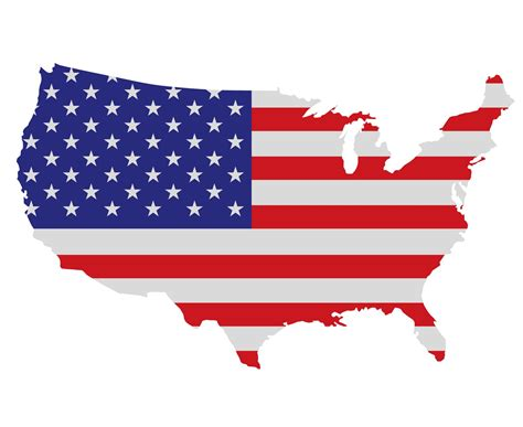 us map with american flag usa arts et voyages