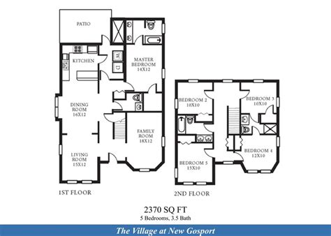 northwest floor plans nsa norfolk northwest annex new gosport neighborhood 5 bedroom 3 5 bath home floor plan