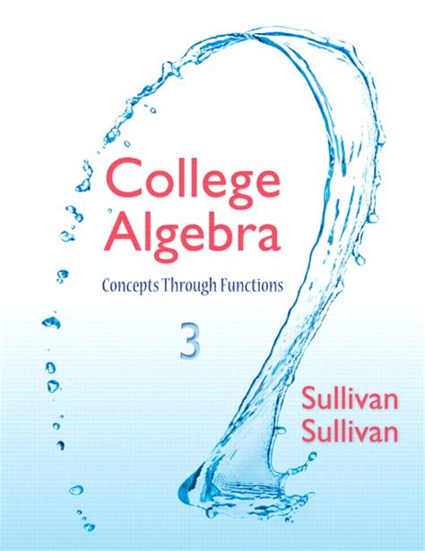 guided lecture notes for precalculus concepts through functions a unit circle approach to trigonometry plus mylab math access card package 3rd edition ebook sullivan sullivan precalculus titles