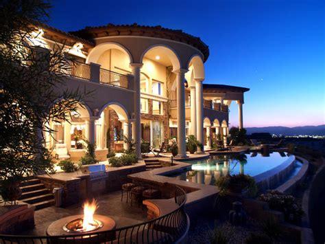 Sarasota Landscape Lighting - bone house mediterranean exterior las vegas by elegant homes