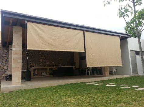cortinas lona para exterior 191 calor o lluvia cortinas de lona enrollable para exterior