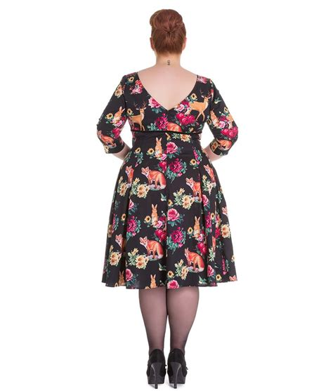 swing dresses vintage retro 50s style woodland creature swing dress vintage