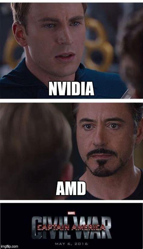 Amd Meme - marvel civil war 1 meme imgflip