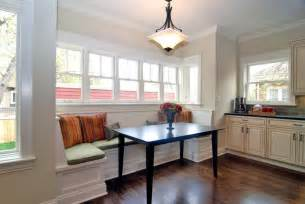 breakfast nook traditional kitchen chicago by