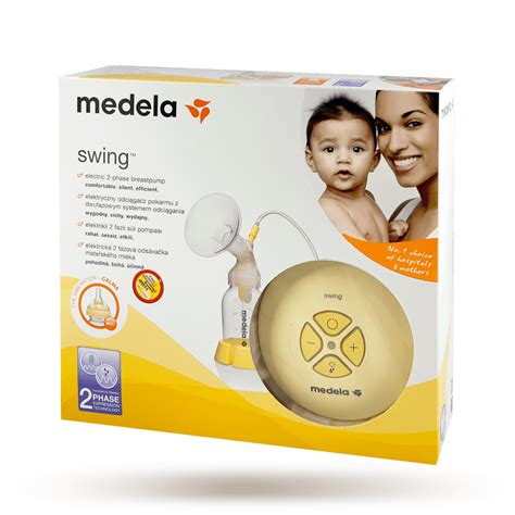 medela swing electric breastpump with calma solitaire