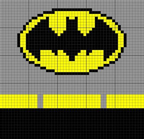 batman knitting chart batman inspired 50 x 50 c2c graph graphgan
