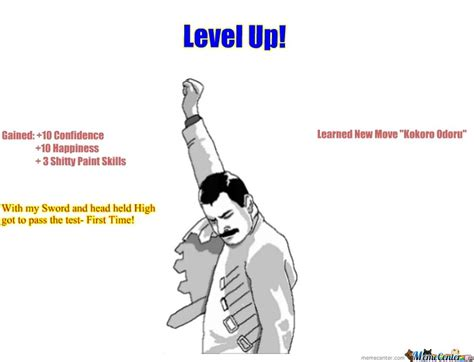 Level Up Meme - level up by cege meme center