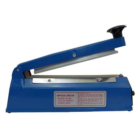 Promo Press Sealer Press Sealer Plastik Impulse Sealer Origin 300mm easyseal 8 quot impulse heat sealer heat press planet
