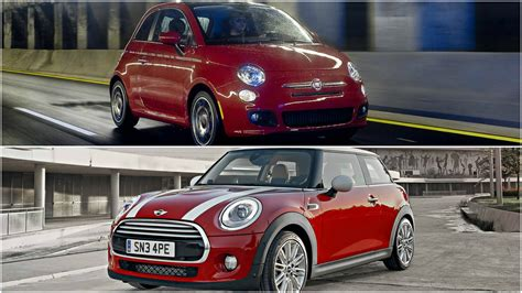 fiat 500 versus mini cooper which one to