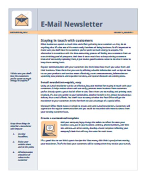 Newsletter Templates Free Download Create Edit Fill And Print How To Create A Fillable Email Template In Outlook