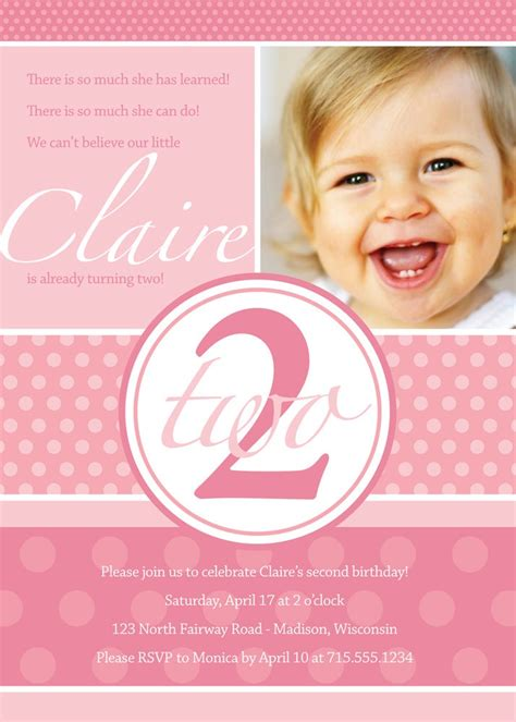 2 year birthday card template 2 year birthday invitation wording dolanpedia