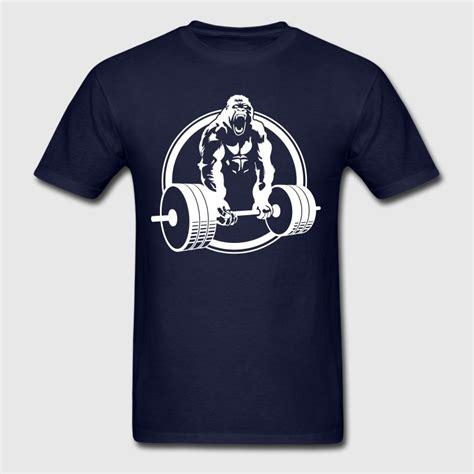 Fitness Shirts Gorilla Lifting Fitness T Shirt Spreadshirt