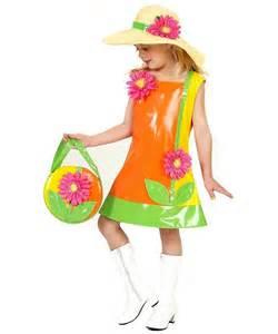 Child Flower Costume - kids flower hippie costume