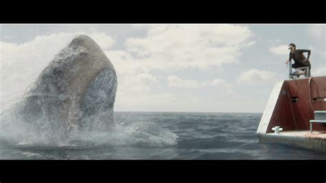 the boat movie trailer monstrous the meg completely dwarfs jaws trailer
