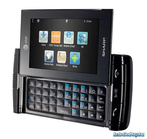sharp mobile phone sharp fx mobile phone letsgodigital