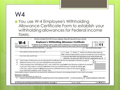 employer tax deduction form employees withholding allowance certificate autos post