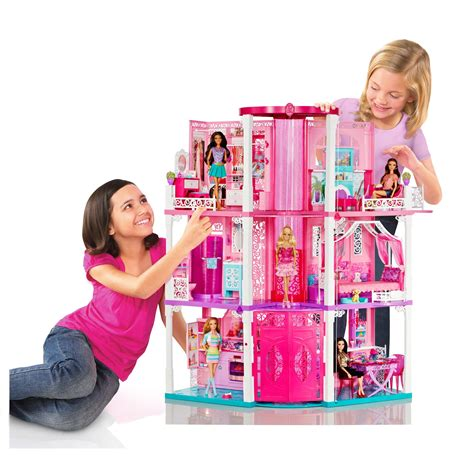 amazon barbie dream house view larger