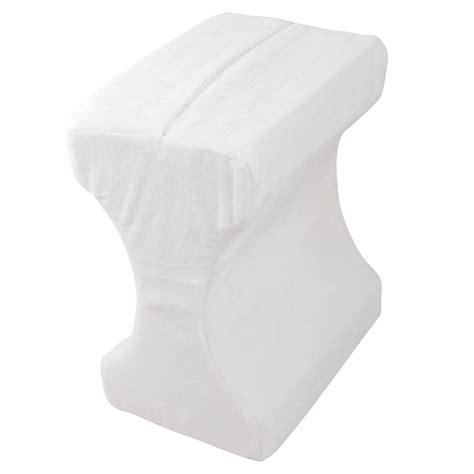 new memory foam leg pillow contour orthpaedic back knee