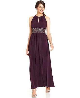 r m richards sleeveless beaded evening gown r m richards sleeveless beaded evening gown