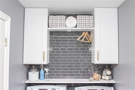 home depot kitchen backsplash peel and stick room design laundry room update with peel and stick tile backsplash