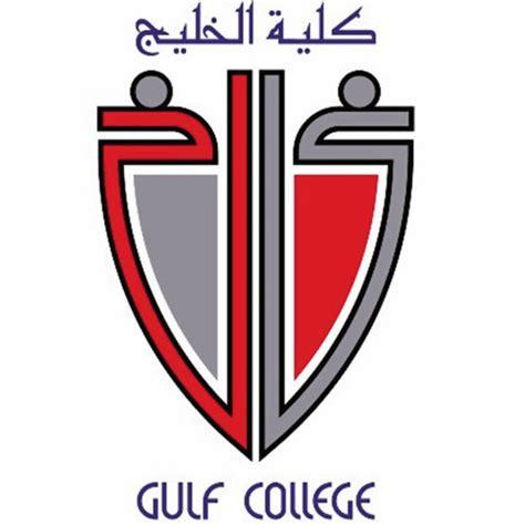 gulf logo gulf college oman logo
