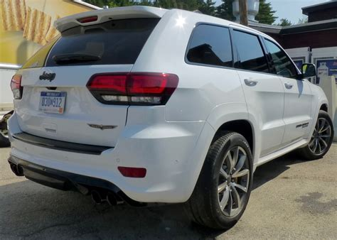 trackhawk jeep white car picks