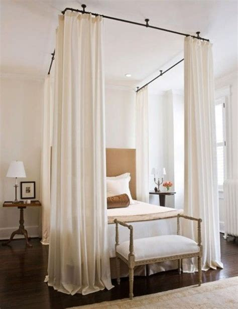beds with curtains around 25 best ideas about curtains around bed on pinterest