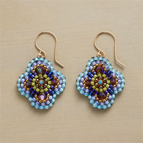 making miguel ases style beaded earrings part i bead