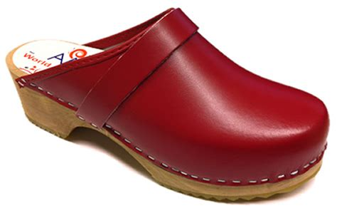 clogs for swedish am toffeln 100 swedish wooden clogs in leather ebay