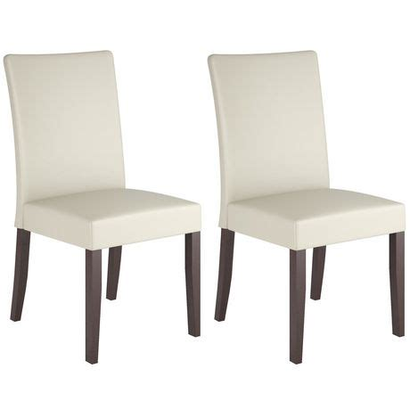 Dining Chairs Walmart Corliving Atwood Leatherette Dining Chairs Walmart Ca