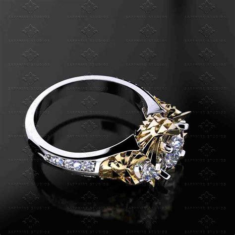 wedding ring surabaya this triforce wedding ring is the best way to propose