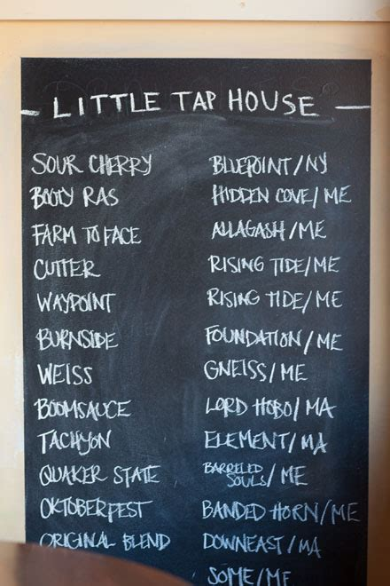 little tap house little tap house the maine mag