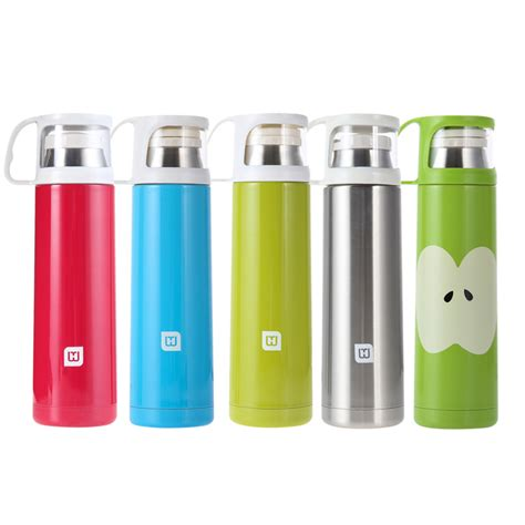 Best Quality Animal Stainless Thermos Kapasitas 500 Ml top 500ml travel mug tea water coffee bottle flask vacuum thermos cup insulation cup stainless
