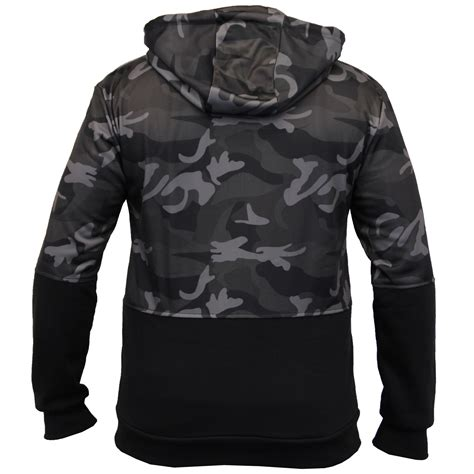 Camouflage Hooded Top mens camouflage sweatshirts soul hooded top
