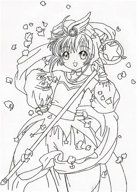 cardcaptor sakura for jing ink by zedyingchicken on deviantart
