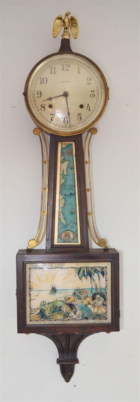 themes clock bollywood vintage ingraham pirate theme banjo clock