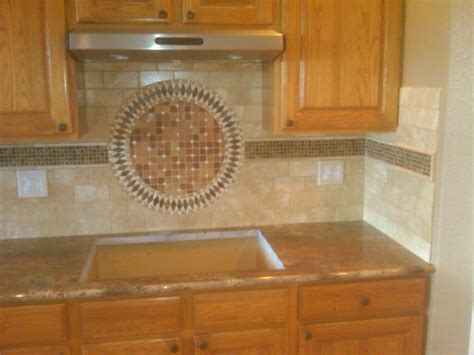 kitchen backsplash medallions integrity tile and stone kitchens gallery