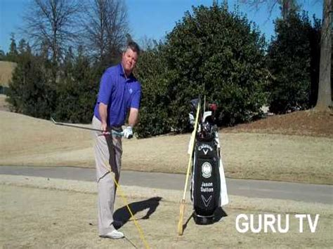 golf swing guru golf instruction guru tv takeaway broom drill youtube