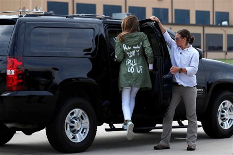 what was the message melania s jacket pbs