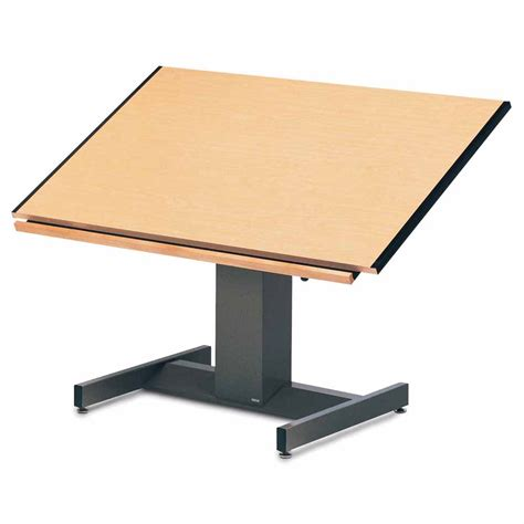 Drafting Table Height Mayline 30 Quot X 42 Quot Futur Matic Drafting Table Electric Height Manual Tilt 8693b