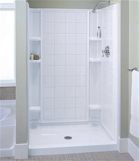 Shower Stall Designs Small Bathrooms by Shower Stalls And Shower Walls Surprising Solutions For