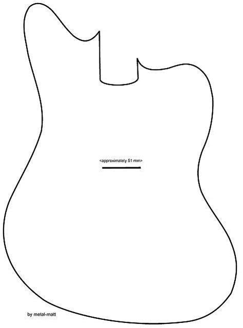 bass guitar templates jaguar bass specs talkbass